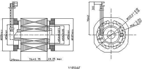 yyr系列全封闭制冷压缩机电动机---西安西电微电机